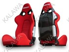 One lot/2pcs adjustable,inclusion feeling,BRIDE+embroidered cloth red/black sports racing car seat SPQ01