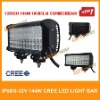 IP68 CREE Led Light Bar 144W,12'' LED WORK LIGHT,combo beam