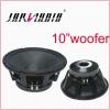 "500 Watts 10"" Aluminum PA Woofer"