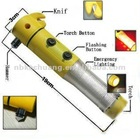 multifunctional led emergency safety hammer