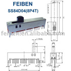 (SS84D04G15-8P4T) Slide Switch