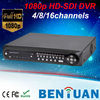 1080P H.264 real time 4ch HD-SDi cctv dvr