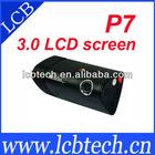 P7 Unique 3.0 inch LCD Screen GPS G-Sensor Dual Camera Car DVR