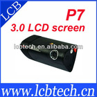 P7 Unique 3.0 inch LCD Screen GPS G-Sensor Dual Camera Car DVR