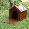 Wooden Pet House, wooden dog kennel