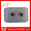 Excavator engine support parts for EX300-5, Excavator rubber cushion 445310 4197145