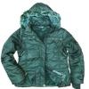 Fashion windbreaker women's padded jacket for winter