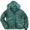 Fashion windbreaker women's padded jacket for winter