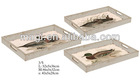Distressed Animal Decorative Wooden Tray For Home