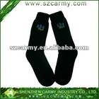 Winter Warm 50%wool 50%nylon black long socks/sleep super warm socks
