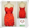 Hot-Cutting Chiffon Short Dress for Girl 2220#