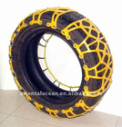 plastic/steel Snow Chains for car tyre