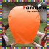 2012 Still HOT SALE 100% Biodegradable Orange Sky Flying Paper Lantern