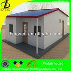 Modern portable steel living 2 bedroom cheap prefab eps panel house