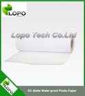 RC Matte Water-proof Photo Paper