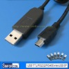 mini usb serial cable, USB mobile upgrade, refresh cable