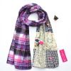 Yiwu wholesale women winter scarf 2012 ,smaller order can accepted,can paypal