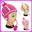 Kids baby girl crochet winter hat RQ-B14