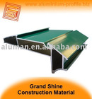 powder coating green Aluminium profile