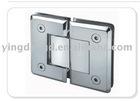 Two ways shower bathroom clamp door hinge