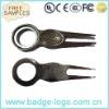 metal zinc alloy golf fork/ball fork