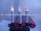 led electronic candle with remote control