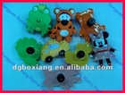 Funny Animal soft palstic handles and Knobs,kid's furniture handle knobs