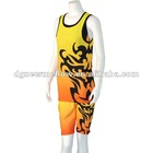 Men's basketball uniforms with digital heat transfer printing