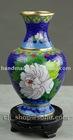 "Free shipping New chinese cloisonne Vase decorative 6"""