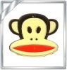 Cute design custom cartoon soft pvc pendant