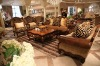 D062-44 American style high quality solid wood dining table and chair