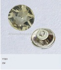25# crystal sofa button