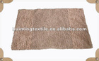 cotton double floor mat,home decorative rugs