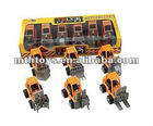 Boy new toys 12 types designer pull back engineering car