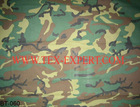 Military Uniform Forest Camouflage Fabric