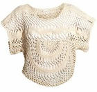 cotton crochet top