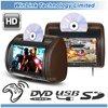 9 inch DVD Headrest monitor(zip cover & wireless headphone optional)