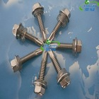 ANSI Standard Hex Head Self Driling Screw with EPDM Washer High quality and best price