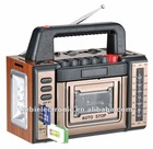 Hot sell portable radio cassette recorder with torch light
