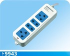 4 outlet power strip with main switch
