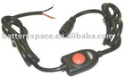 Component - Switch: switch with 13.2V regulator & LED Indicator (4' long Trail-Tech female)