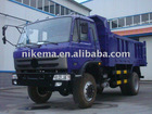4*4 drive front and rear tipper truck