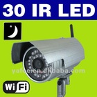 30 IR LED Waterproof Wireless WIFI IP Camera Night Vision Cam IPCAM21