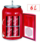 Mini portable fridge with cooler and warmer 6L