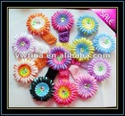 Fashion Decoration Colorful Flowers with Headband for Hair Accessory