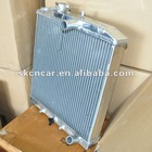 brazed aluminium radiator for car cooling system