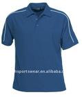 button fly mans polo shirt