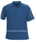 button fly mans polo shirt