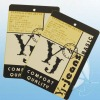 OEM&ODM high quality cardboard hang tag for jeans