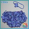 royal blue flower shorts flower top with foe headband for kinds 2pcs/set